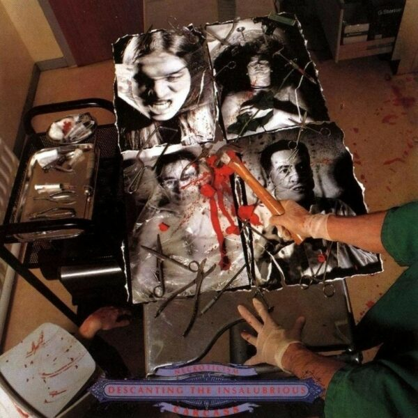 Carcass - Necroticism, Full Dynamic Range, LP