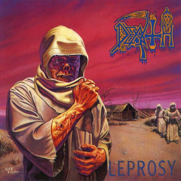 Death - Leprosy, 2LP, Gatefold, Limited Pearl Coloured Vinyl, 30th Anniversary Edition, 5000 Copies