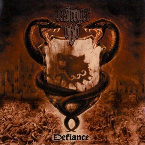 Destroyer 666 - Defiance, Gatefold, Limited Transparent Clear Vinyl, Incl. Poster, 200 Copies