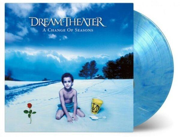 Dream Theater - A Change Of Seasons, 2LP, Limited Blue/White Mix, 180gr, 2500 copies