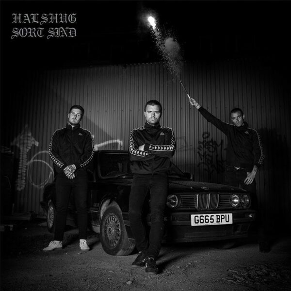 Halshug - Sort Sind, LP