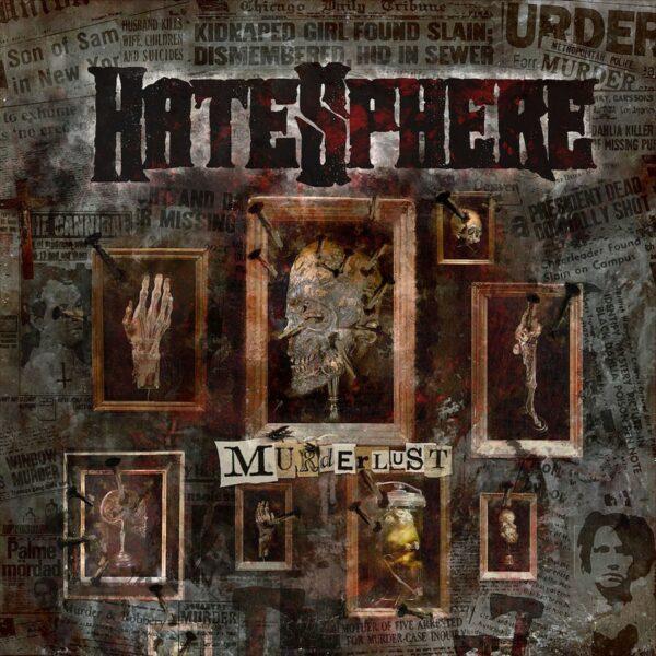 Hatesphere - Murderlust, Limited Red Vinyl, 250 Copies, Numbered