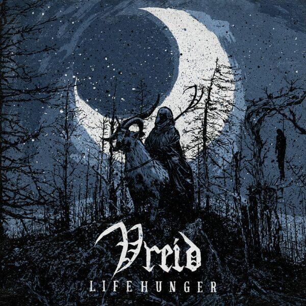 Vreid - Lifehunger, Gatefold, Limited Blue with Black Mix, 200 Copies