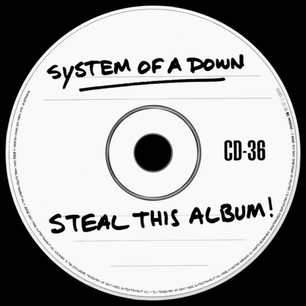 System of A Down - Steal This Album!, 2LP