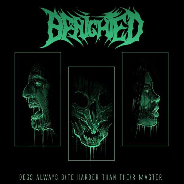 Benighted - Dogs Always Bite Harder Than Their Master, Limited Glow In The Dark Vinyl, 350 Copies