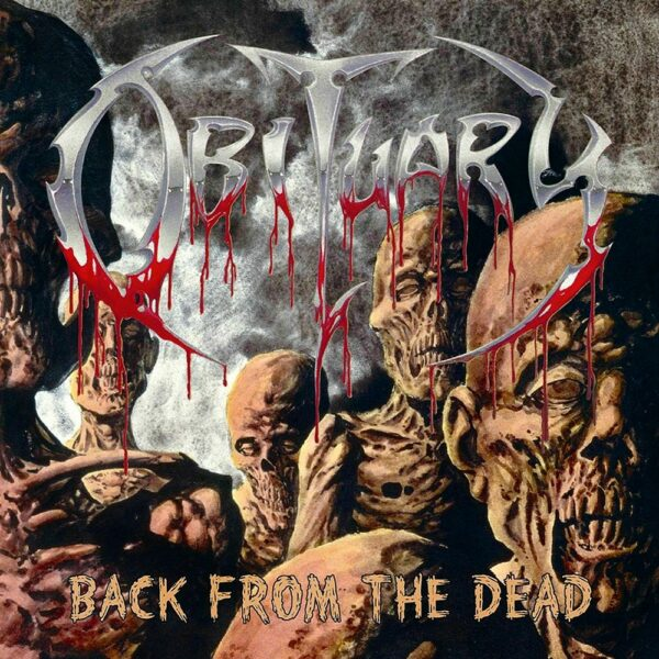 Obituary - Back From The Dead, Limited Red Vinyl