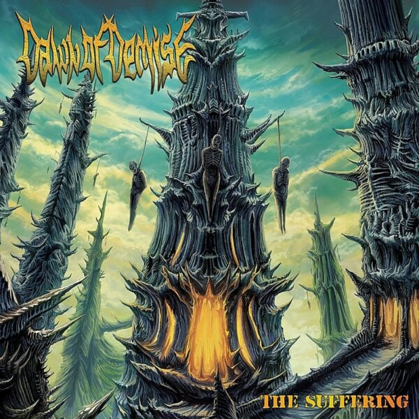 Dawn Of Demise - The Suffering, Yellow Vinyl