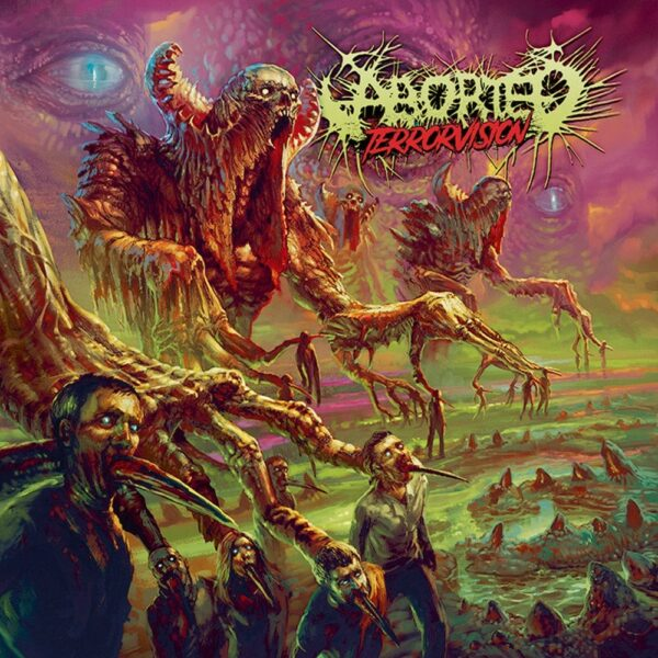Aborted - Terrorvision, Gatefold, Limited Pink Vinyl, 200 Copies