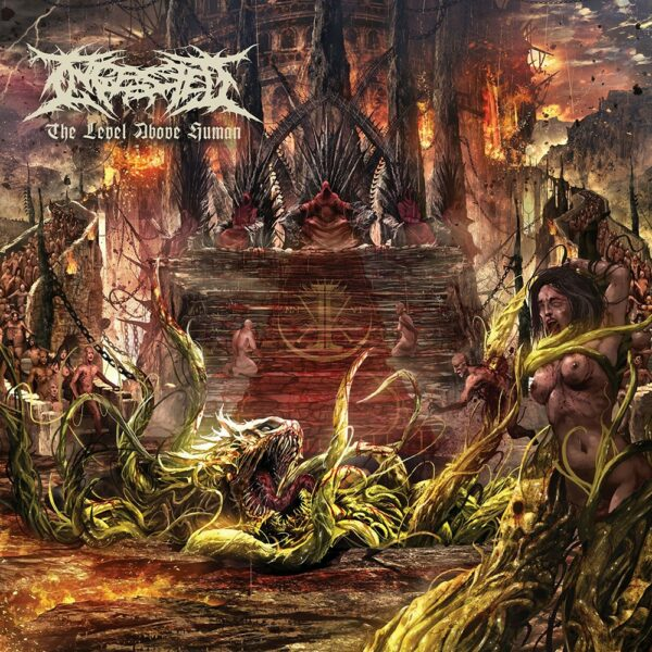 Ingested - The Level Above Human, Red Vinyl
