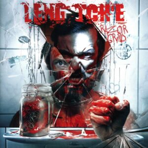 Leng Tch'e - Razorgrind, Gatefold, Limited Opaque White Vinyl, 100 Copies