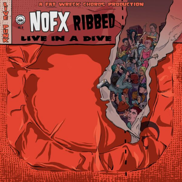 NOFX - Ribbed, Live In A Dive, LP