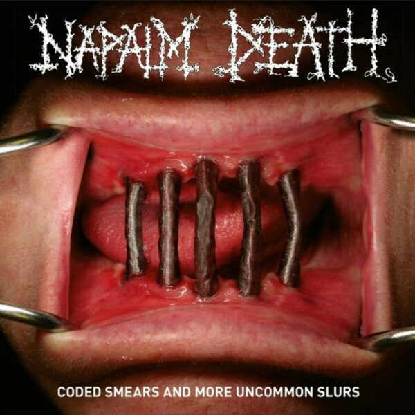 Napalm Death - Coded Smears And More Uncommon Slurs, 2LP, Gatefold, Poster, 4p. booklet