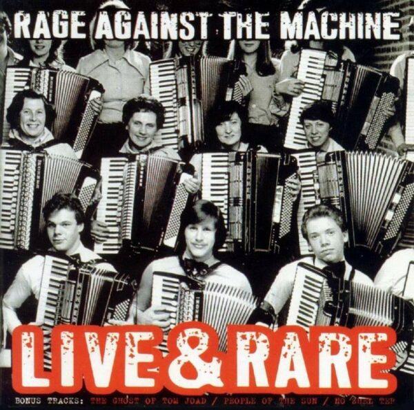 Rage Against The Machine - Live & Rare, 2LP, Gatefold (Black Friday release)