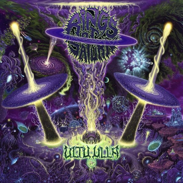 Rings Of Saturn - Ultu Ulla, Gatefold, Limited Mint Green Vinyl, Limited 300 Copies