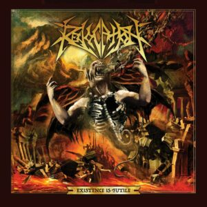 Revocation - Existence is Futile, Limited Pale Golde Yellow Vinyl, 200 Copies, Numbered