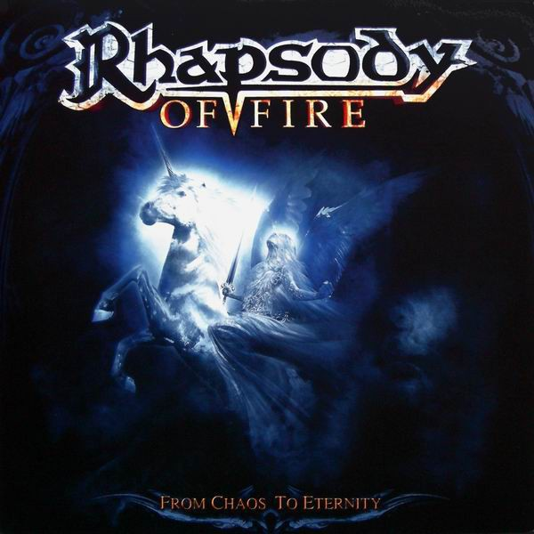 Rhapsody of Fire - From Chaos To Eternity, Gatefold, Limited Blood Red 180gr Vinyl, Incl. 48 page booklet