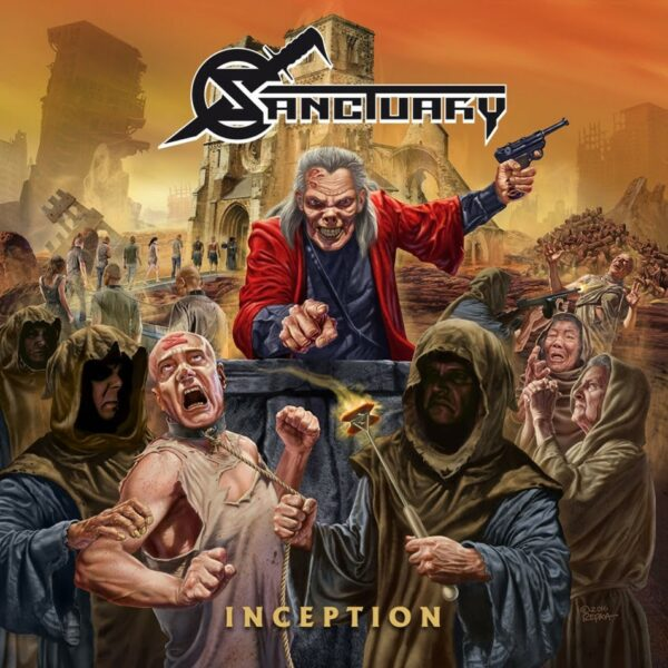 Sanctuary - Inception, Gatefold, 180gr Vinyl, 12p Booklet, CD+Poster
