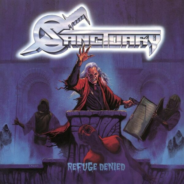 Sanctuary - Refuge Denied, Limited Red Vinyl, 180gr, 666 Copies