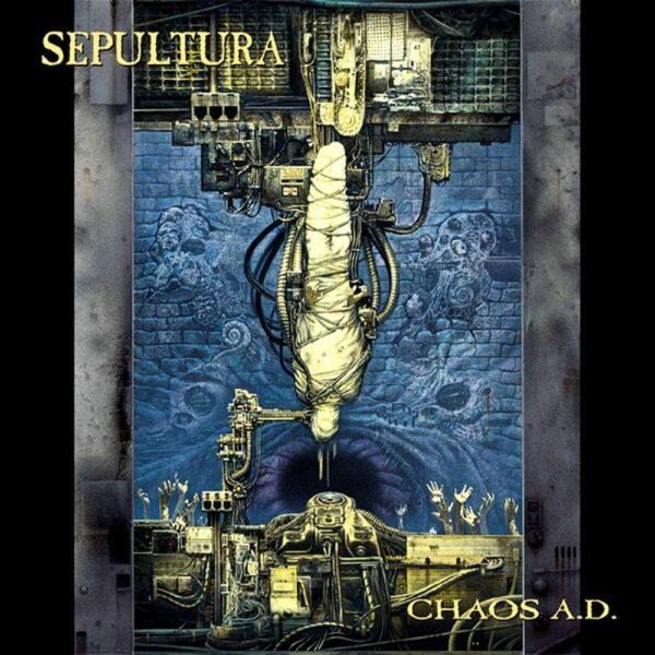 Sepultura - Chaos A.D., 2LP, Gatefold, Expanded Edition