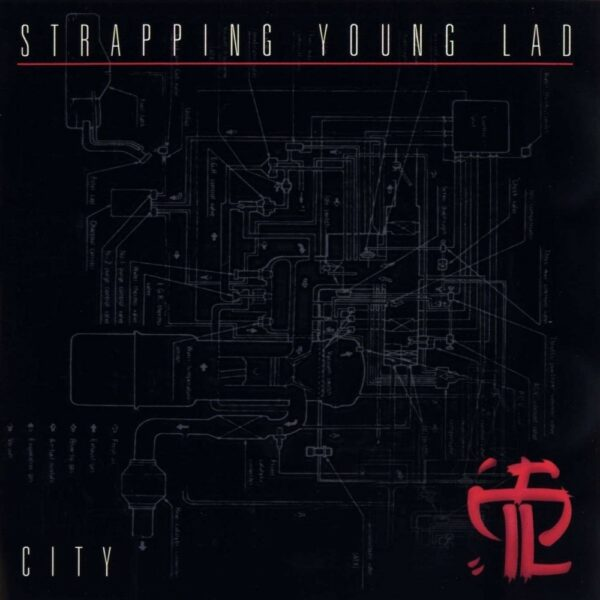 Strapping Young Lad - City, LP