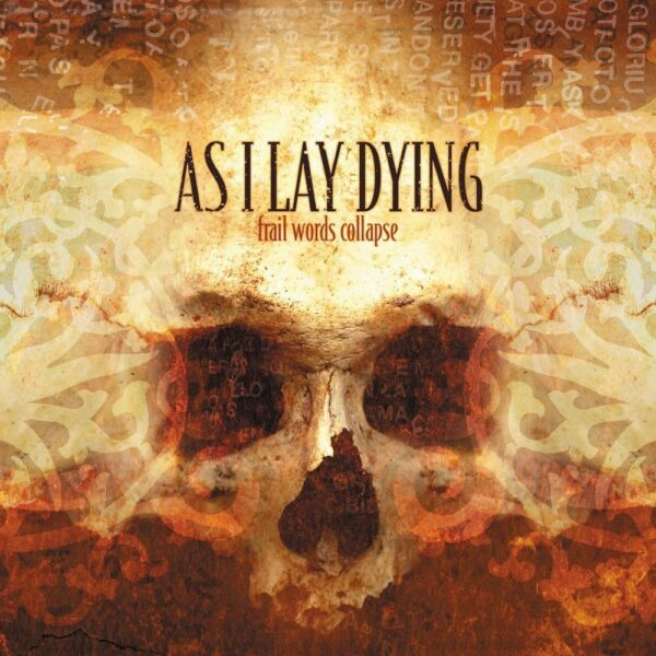 As I Lay Dying - Frail Words Collapse, Limited gold vinyl, 300 copies, numbered