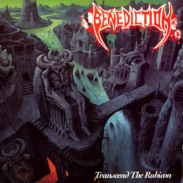 Benediction - Transcend The Rubicon, 2LP, Gatefold, Deluxe 25th Anniversary edition, Gold /Orange Vinyl, 1000 copies