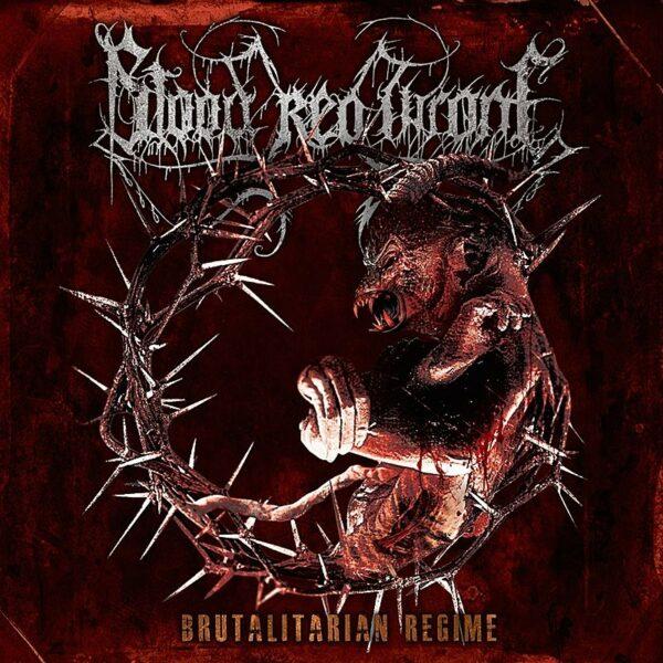 Blood Red Throne - Brutalitarian Regime, Orange vinyl