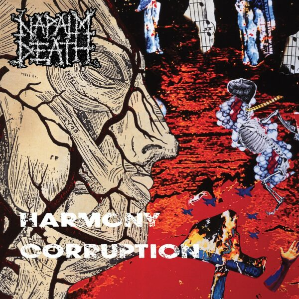 Napalm Death - Harmony Corruption, LP