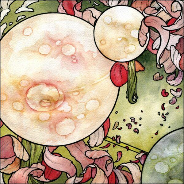 """Torche - In Return, Gatefold, 10"""" Pink Marbled Vinyl"""
