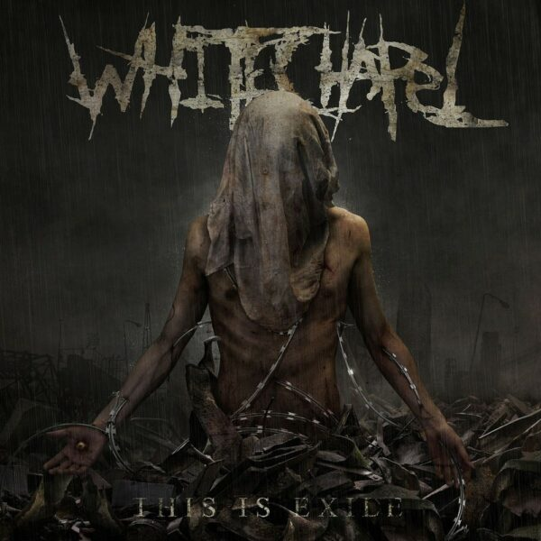 Whitechapel - This is Exile, Limited transparent Black & Red Splattered Vinyl, 200 Copies, Numbered