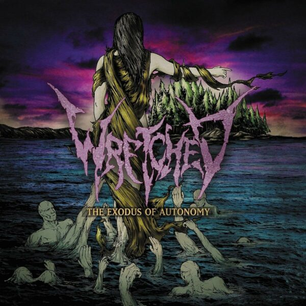 Wretched - The Exodus Of Autonomy, Coloured Vinyl