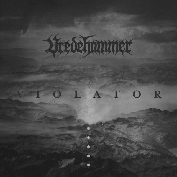 Vredehammer - Violator, Clear vinyl with black splatter
