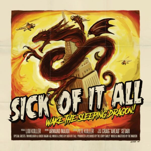 Sick Of It All - Wake The Sleeping Dragon, 180gr, LP