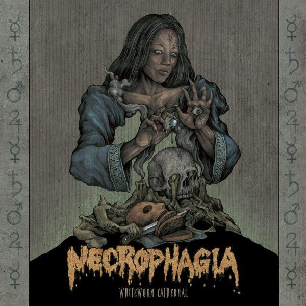 Necrophagia - Whiteworm Cathedral, 2LP, Gatefold, Limited Transparent Green Vinyl, 300 Copies
