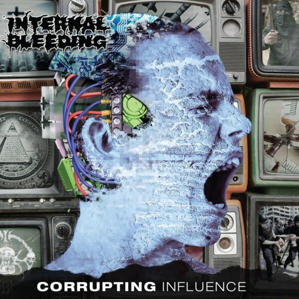 Internal Bleeding - Corrupting Influence, Blue Vinyl
