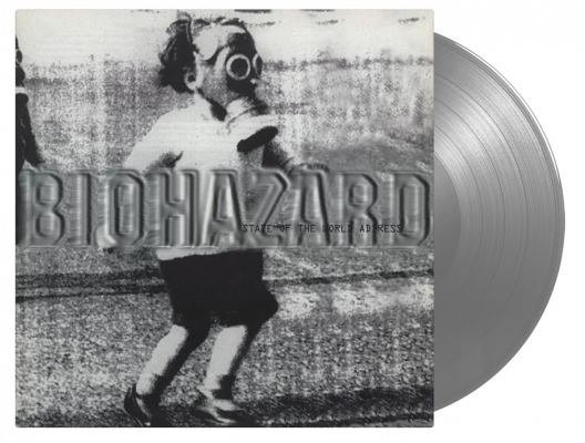 Biohazard - State Of The World Address, Limited Silver Coloured Vinyl, 1000 Copies