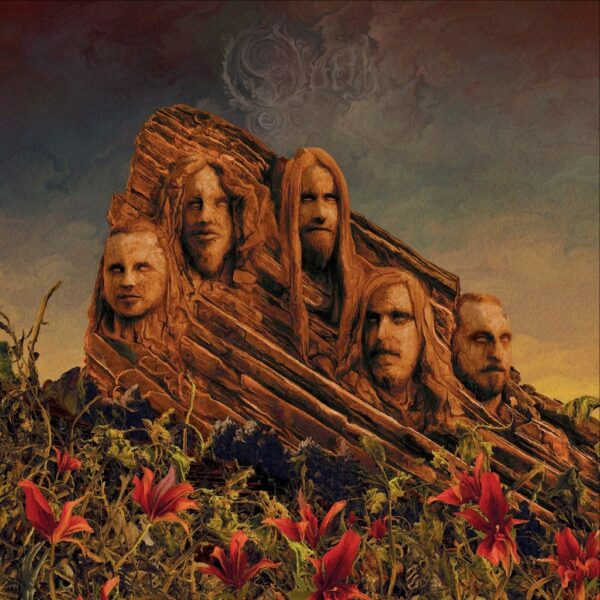 Opeth - Garden Of Titans, Live at Redrocks Amphitheatre, 2LP, Gatefold, Limited red vinyl, 500 copies