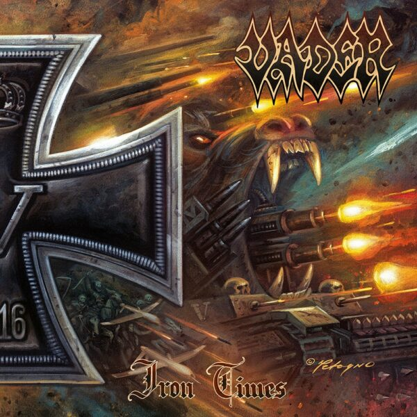 """Vader - Iron Times, 10"""", LP"""