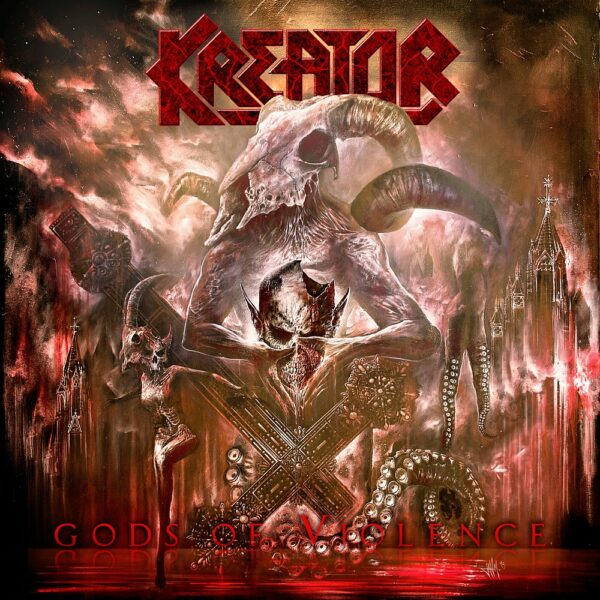 Kreator - Gods Of Violence, 2LP, Gatefold, Limited Yellow Vinyl, 300 Copies