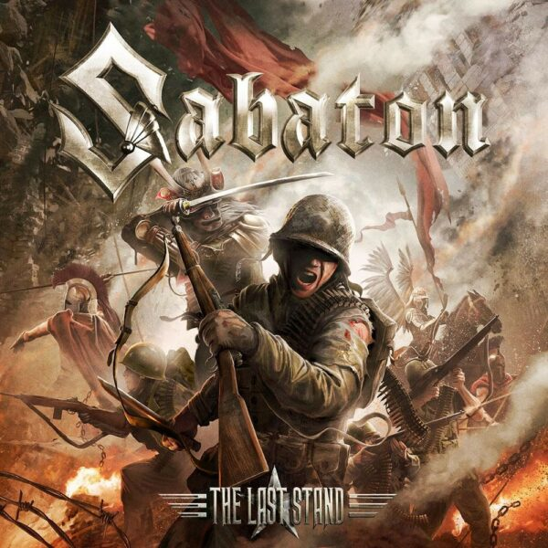 Sabaton - The Last Stand, 2LP, Gatefold, Limited Clear Vinyl, 500 Copies