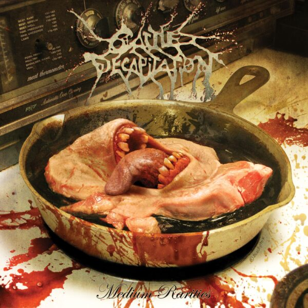 Cattle Decapitation - Medium Rarities, Pink Slime Marbled Vinyl, 200 Copies, Numbered