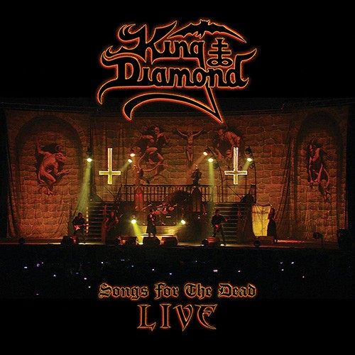 King Diamond - Songs From The Dead, Live, 2LP, Gatefold, Limited Transparent Amber Vinyl
