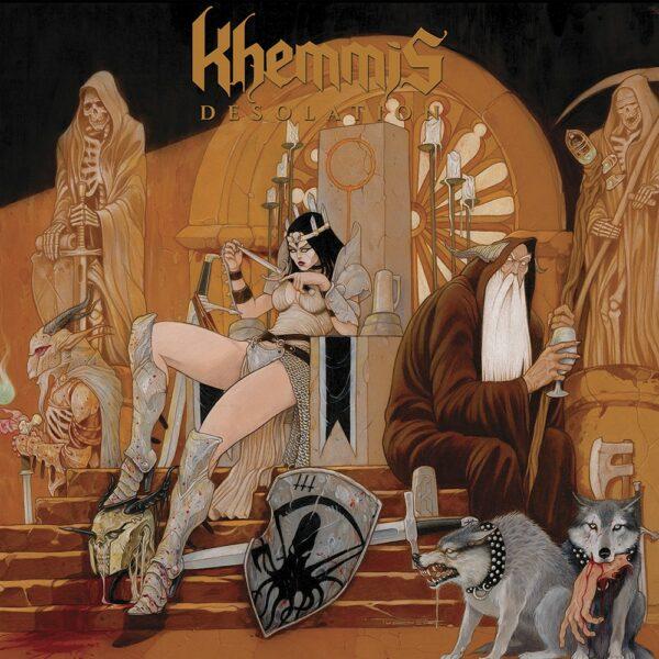 Khemmis - Desolation, Gatefold, Limited Blue Vinyl, 300 Copies
