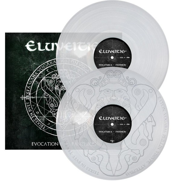Eluveitie - Evocation II - Pantheon, 2LP, Gatefold, Limited Clear Vinyl,