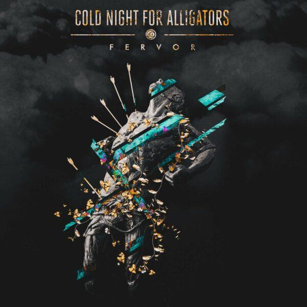 Cold Night For Alligators - Fervor, Turquoise/Black Marbled vinyl, limited 200 copies
