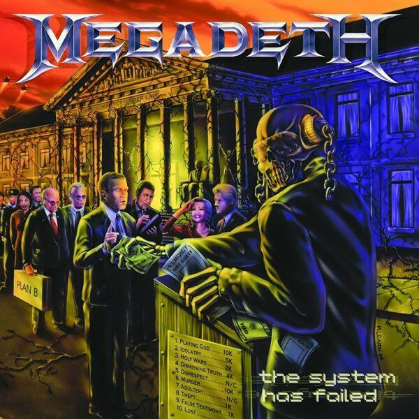 Megadeth - System Has Failed, LP