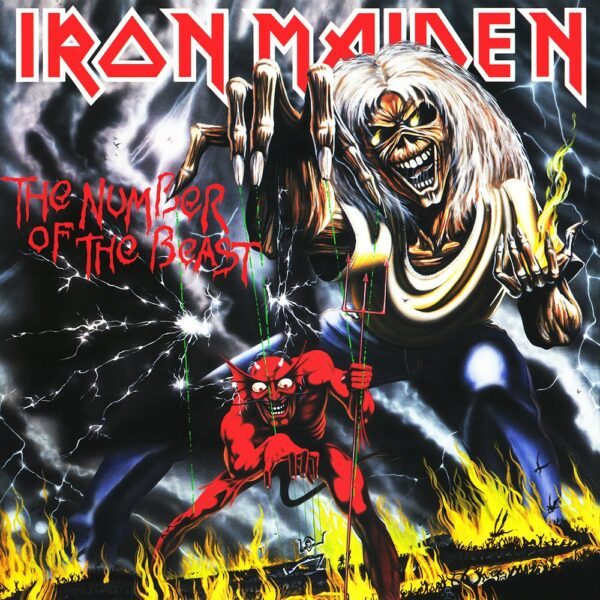 Iron Maiden - The Number Of The Beast, LP