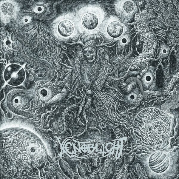 Xenoblight - Procreation, Limited 300 copies, LP