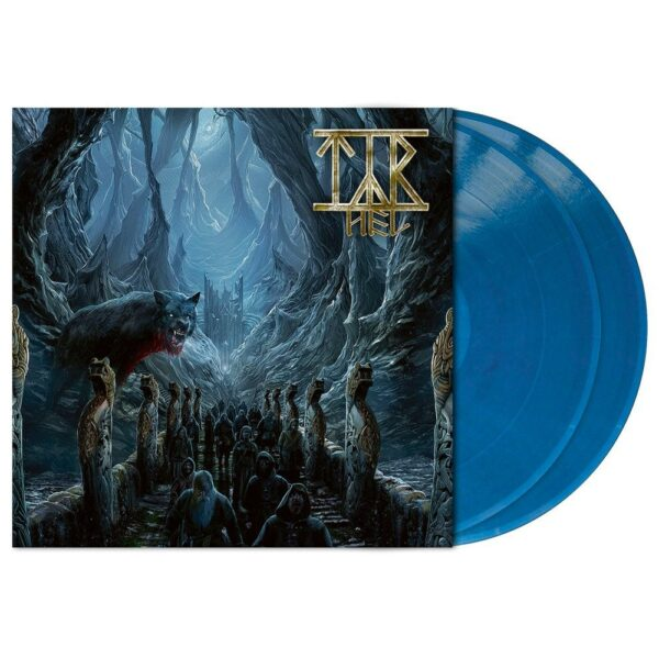 Tyr - Hel, 2LP, Gatefold, Limited Clear Blue Marbled Vinyl, 300 Copies