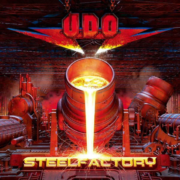 U.D.O - Steelfactory, 2LP, Gatefold, Limited White Vinyl